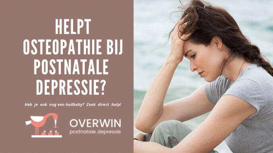 helpt osteopathie bij huilbaby's
